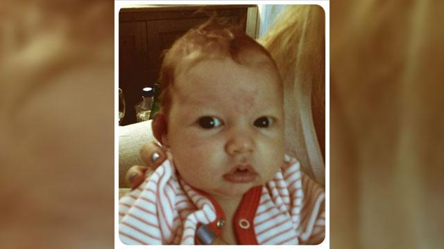 Jessica Simpson Tweets Photo of Baby Maxwell