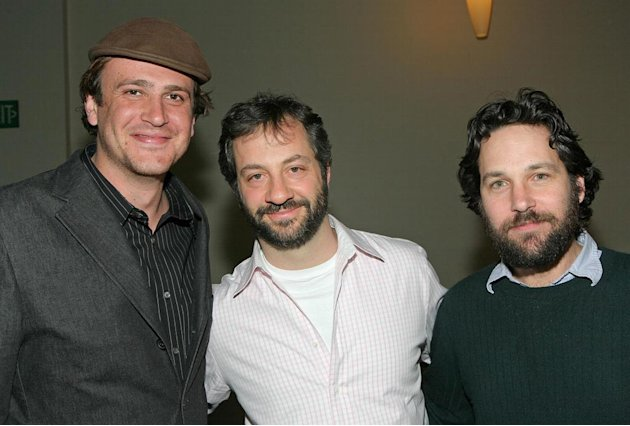 Jason Segel , director and producer Judd Apatow and actor Paul Rudd attend 'The Comedy World Of Judd Apatow' at the Paley Center. -  March 17, 2008