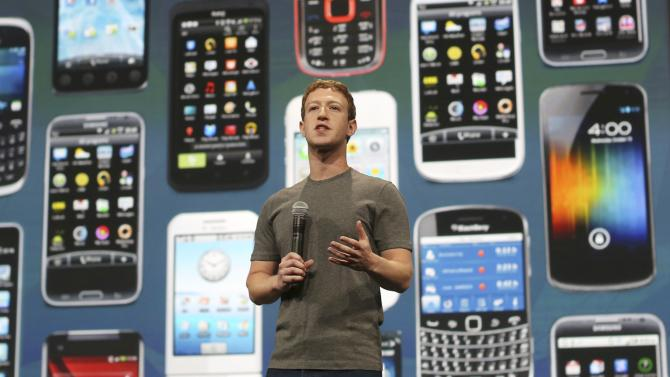 Facebook CEO Mark Zuckerberg delivers keynote address at Facebook's f8 developers conference in San Francisco