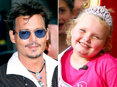 Johnny Depp Is a Fan of Here Comes Honey Boo Boo