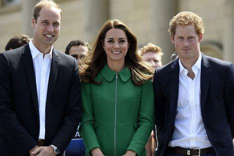Prince Harry Misses Second Royal Baby's Birth, Jets Out of London to Return to Australia