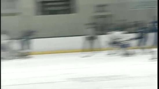 Falmouth knocks off Lewiston in boys hockey