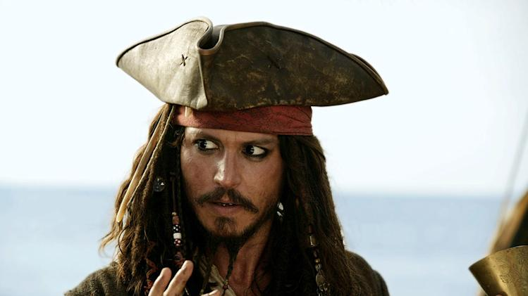 Johnny Depp's Oddest Movie Roles 2011 Pirates of the Caribbean