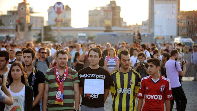 Anti Goverment Protests Continue In Turkey