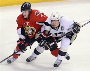 Crosby, Malkin lead Pens past Sens in SO