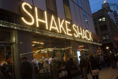 Burger chain Shake Shack sizzles in market debut