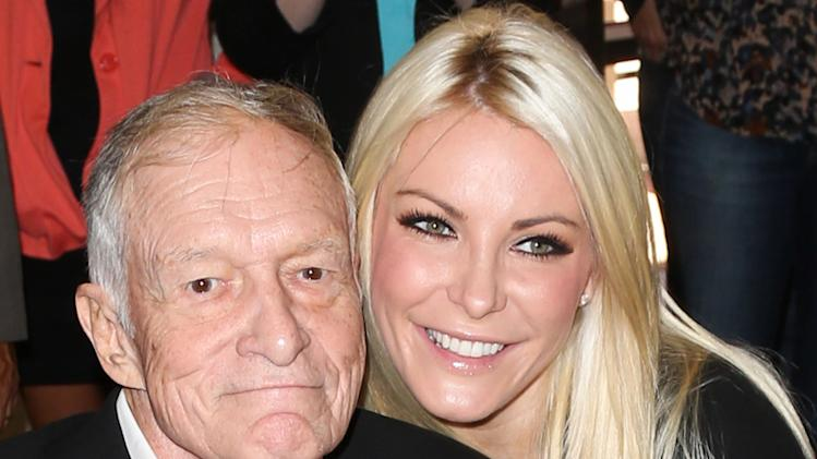 Hugh Hefner, Crystal Harris
