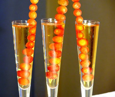 Firecracker Champagne & Grapes