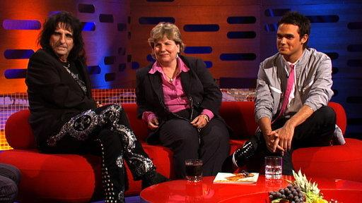 Alice Cooper, Sandi Toksvig and Gareth Gates