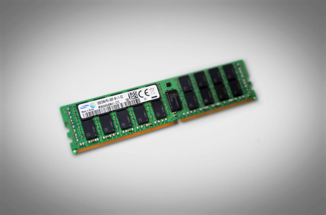 Glorious 128GB DDR4 RAM hits the business market