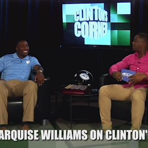 Marquise Williams Talks Twilight and Pedicures on Clinton's Corner