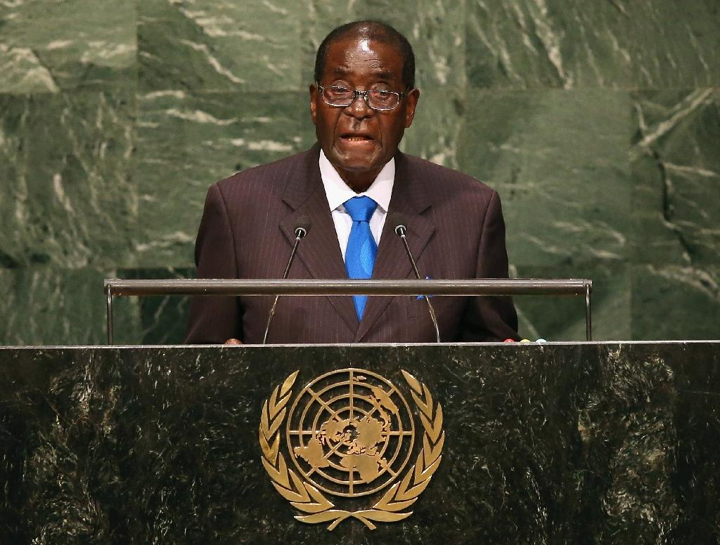 Mugabe lashes out at 'miserly' West in climate change talks