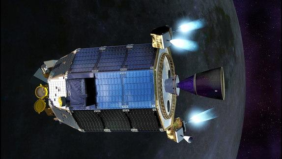 NASA Spacecraft Cruising to Moon With Novel Design