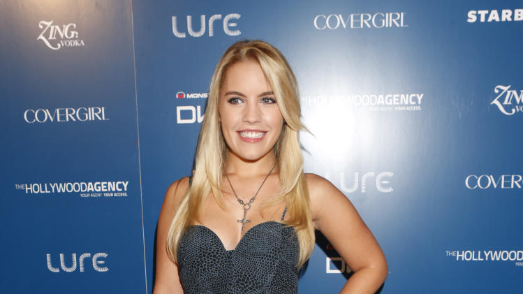 Christine Anderson attends the US Weekly AMA After Party for The Wanted at Lure on Sunday November 19, 2012 in Los Angeles, California.  (Photo by Todd Williamson/Invision/AP Images)
