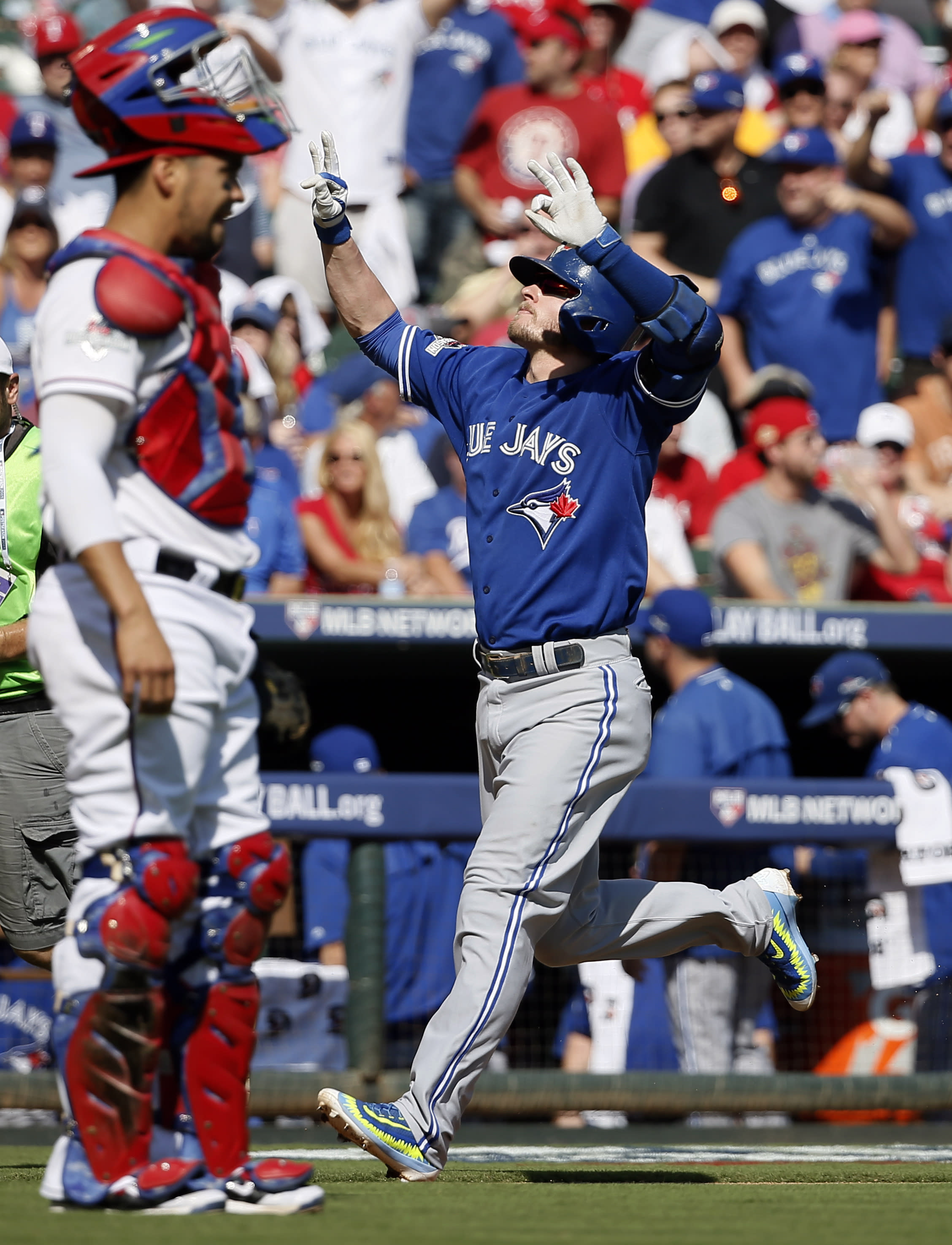 Blue Jays force Game 5 in ALDS with 8-4 win at Texas