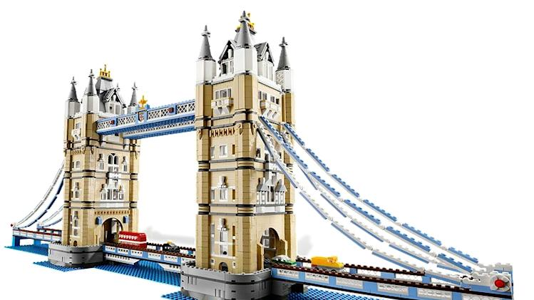 TOWER BRIDGE: $239 -- London's Tower Bridge is one of the city's most recognizable landmarks, and now this 40-inch replica can be yours for a fraction of the cost of a European vacation. Perhaps not as small a fraction as you might wish, however.