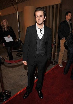 Michael Angarano at the Los Angeles premiere of Warner Independent Pictures Snow Angeles