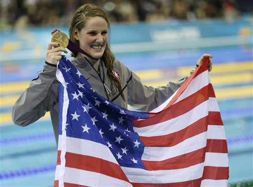 'Missile Missy' is tearing up Olympic pool