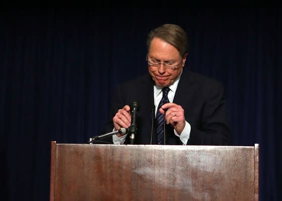 Crisis Management Experts Slam NRA, Wayne LaPierre Conference as Worst Since Tiger Woods