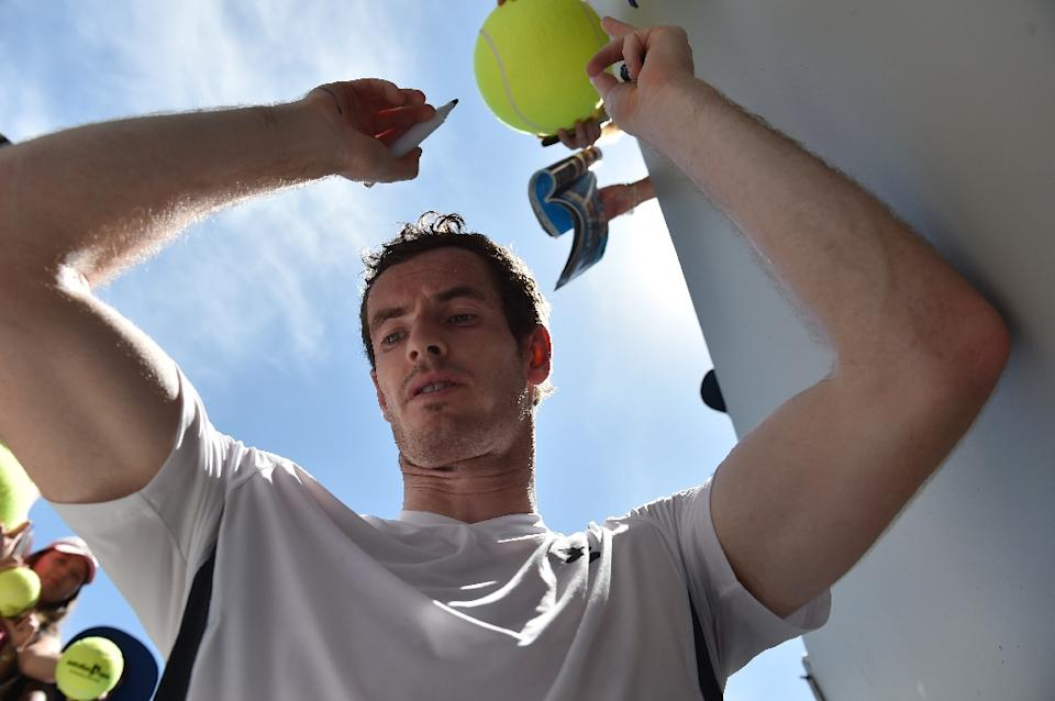 Baby alarm for dad-to-be Andy Murray at Australian Open