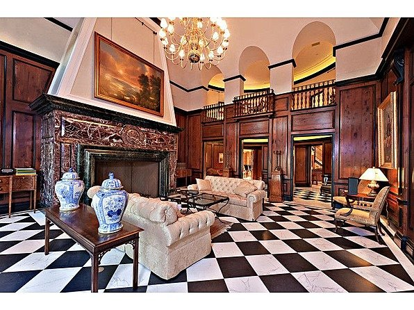 One tycoon is selling two of America's priciest mansions bradbury living space2