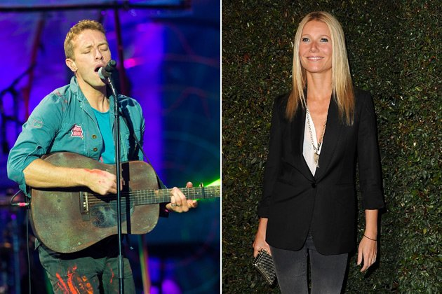 Zum Tag des Kusses: Chris Martin überrascht Gwyneth Paltrow (Bilder: Getty Images)