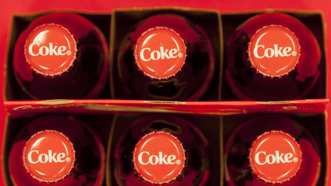 Coca-Cola's profit slips as US soda sales flag