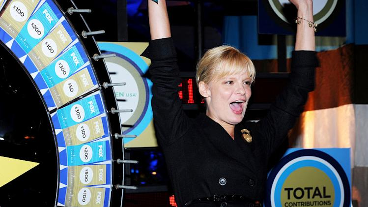 "Martha Plimpton of ""Raising Hope"" celebrates at the 2010 Fox Fall Eco-Casino party on September 13, 2010, at Boa in West Hollywood."