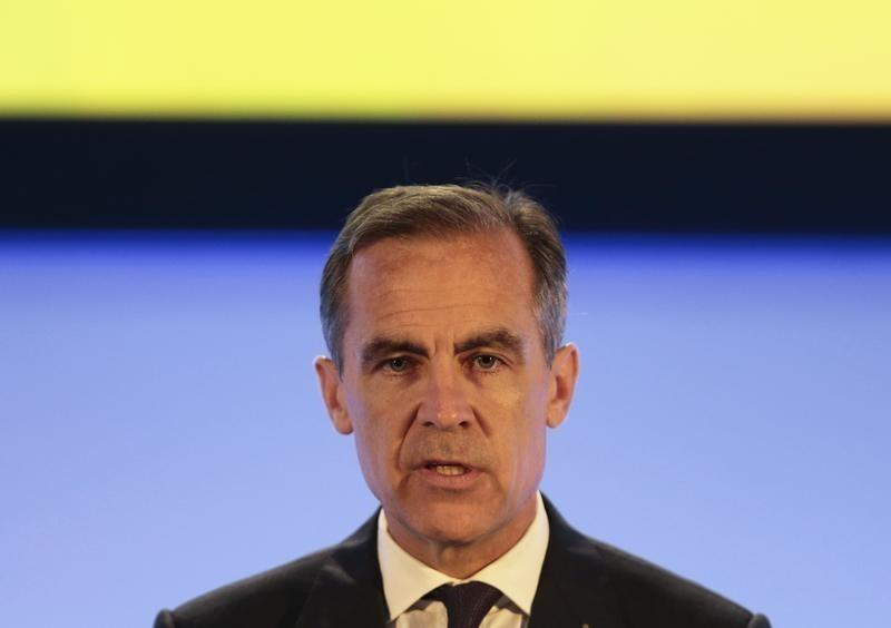 Bank of England's Carney says rate hike timing is still a question