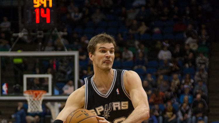 NBA: San Antonio Spurs at Minnesota Timberwolves