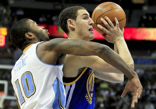 Warriors hand Nuggets 5th straight loss, 109-101