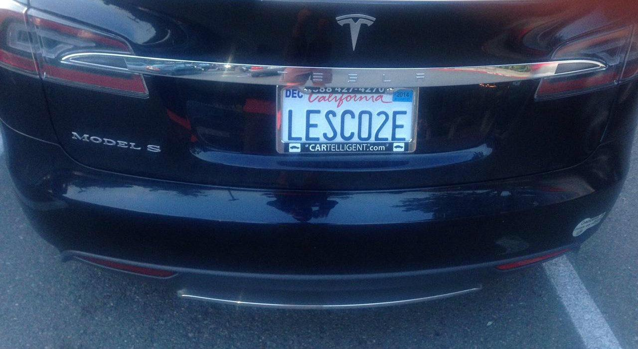 Dear Tesla and Prius owners, enough with the sanctimonious license plates