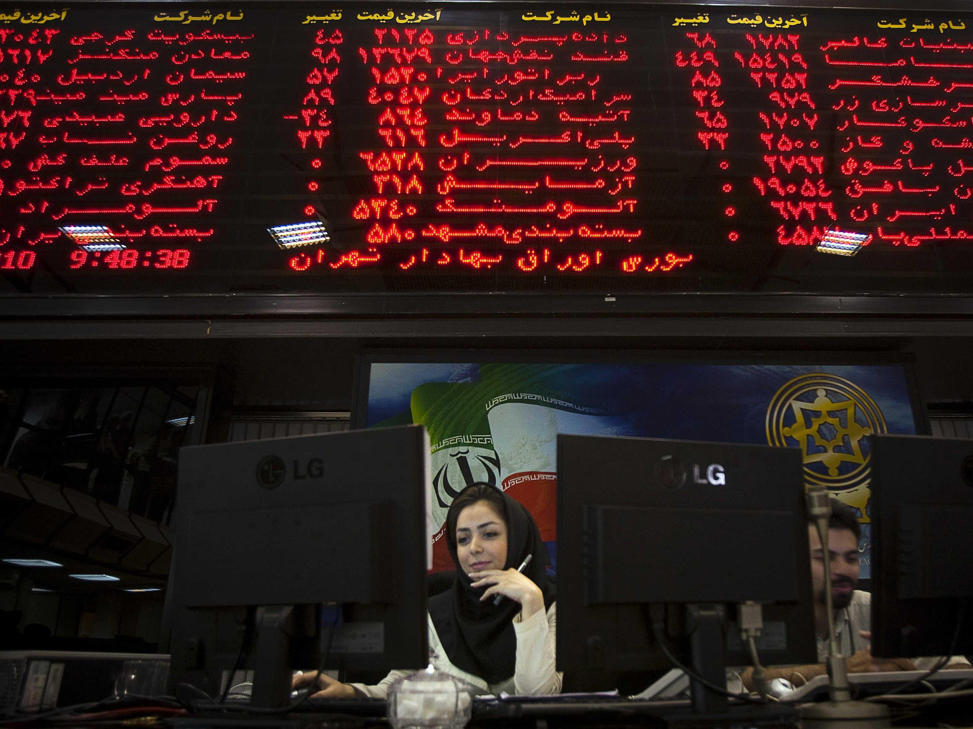 Wall Street is racing to get in on Iran