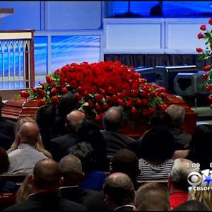 Hundreds Pay Their Respects To Cowboys Great Robert Newhouse