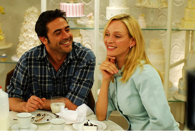Jeffrey Dean Morgan Uma Thurman The Accidental Husband Production Stills Yari Film Group 2009