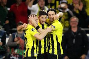 Borussia Dortmund 4-1 Real Madrid: Four for Lewandowski as Mourinho's men are dismantled