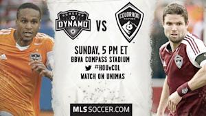 Houston Dynamo vs. Colorado Rapids | MLS Match Preview