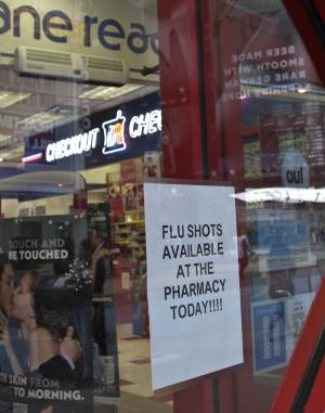 Flu vaccines running low at some NYC locations
