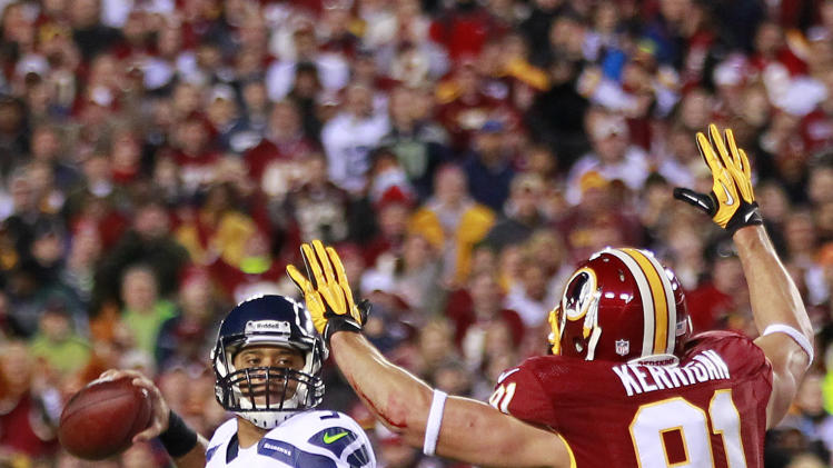 NFL: NFC Wild Card Playoff-Seattle Seahawks at Washington Redskins