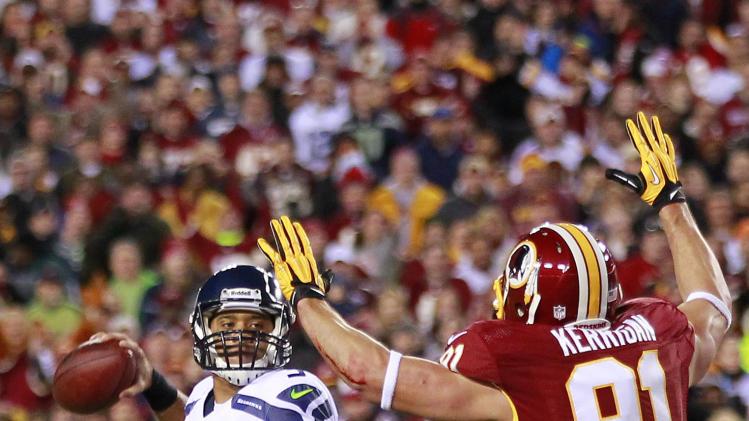 NFL: NFC Wild Card Playoff-Seattle Seahawks at Washington Redskins