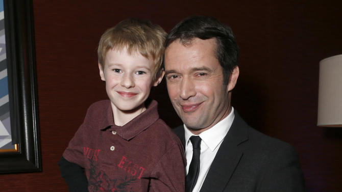 Kyle Catlett and James Purefoy attend the Fox Winter TCA All Star Party at the Langham Huntington Hotel on Tuesday, Jan. 8, 2013, in Pasadena, Calif. (Photo by Todd Williamson/Invision/AP)