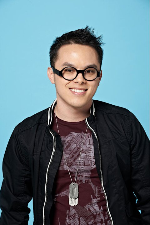 "Clint Jun Gamboa , 26, from Long Beach, CA competes on the tenth season of ""American Idol."""