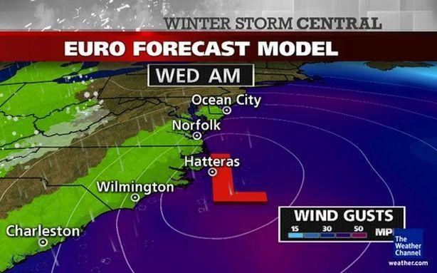 The Upcoming Nor'easter Has Really Bad Timing