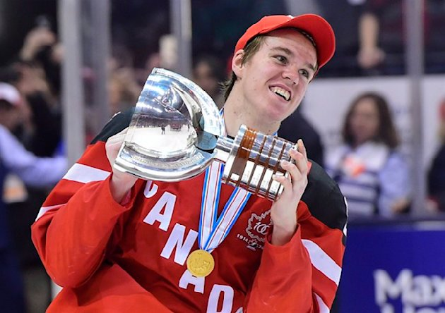 ... North American skater in the 2015 draft. THE CANADIAN PRESS/Frank Gunn
