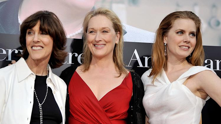 Julie and Julia LA premiere 2009 Nora Ephron Meryl Streep Amy Adams