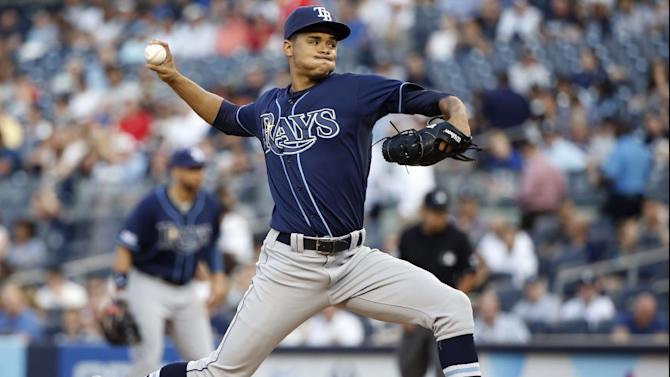 Rays blow lead, beat Yankees 4-3 in 12 innings