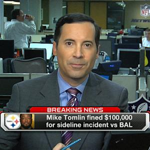 Mike Tomlin fined $100,000
