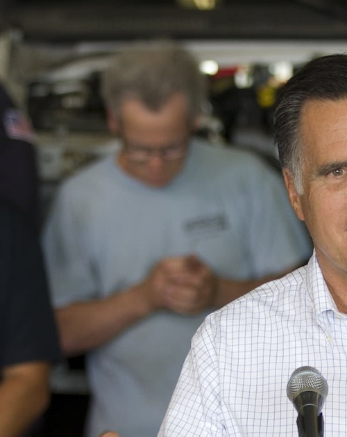 Photo Makes Romney Event Look 'Pretty Boring'