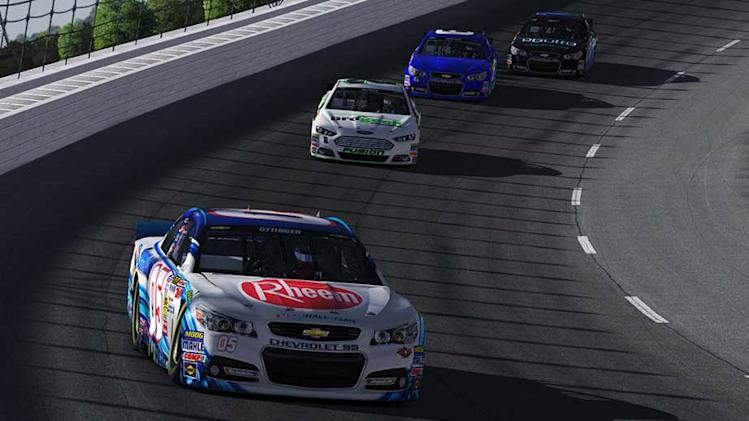 Ottinger stays hot, gets third straight iRacing win