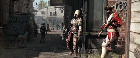 Assassin&#39;s Creed III : Boston en vido commente